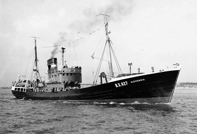 Fish trawler ALEMANNIA