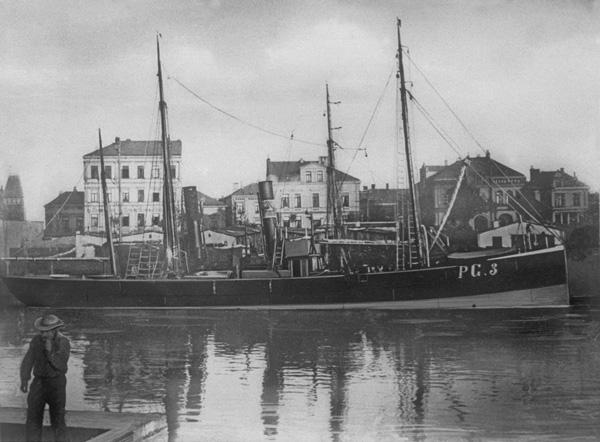 Fischdampfer PG-3-SAGITTA