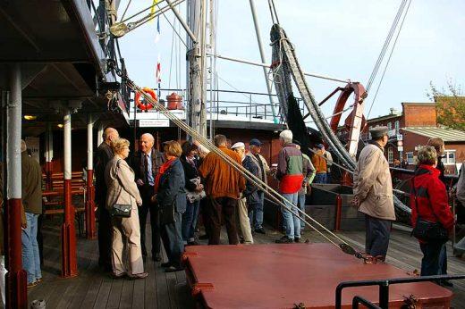 Museumsschiff FMS 'GERA'